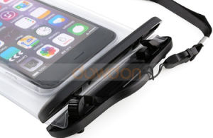 Back Strap Slot Design Swimming Surfing Universal PVC Waterproof Armband Bag pictures & photos