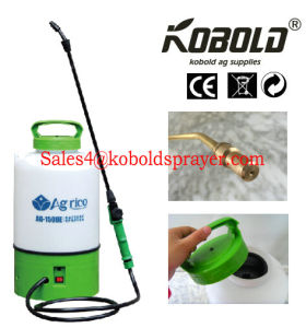 Rechargeable 8L Garden Trolley Sprayer, Battery Sprayer with Wheels pictures & photos