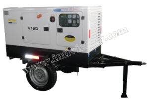 10kVA~150kVA Mobile Trailer Mounted Tianhe Diesel Genset pictures & photos