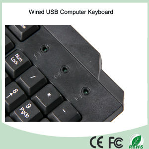 Qwerty Wired USB Keyboard (KB-1688) pictures & photos