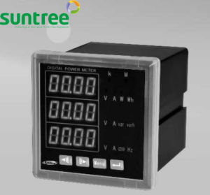 LED Display Single Phase Multifunction Digital Panel Power Meter pictures & photos