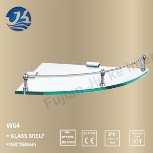 Corner Stainless Steel Bathroom Accessories Net/ Storage Rack Shelf (W64) pictures & photos
