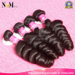 Buyers Favorite Texture Loose Curly Wave Peruvian Virgin Hair pictures & photos