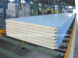 High Quality PU Foam Sandwich Panel Low Price pictures & photos