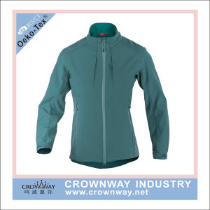Wholesale 4 Way Stretched Lightweight Waterproof Softshell Jacket for Women pictures & photos