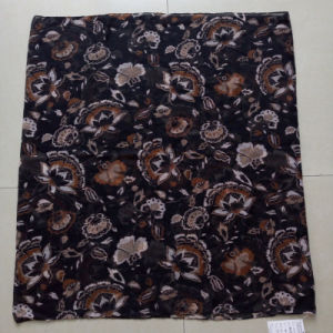 Coffee Color Polyester Voile Scarf Infinity Muffler