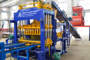 Automatic Solid Hollow Brick Machine Concrete Block Making Machine Price pictures & photos