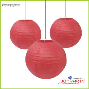 Red Paper Lantern for Christmas Wedding Decoration pictures & photos