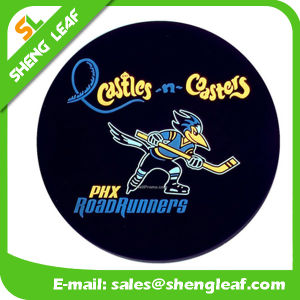 Custom Soft Silicone Cartoon Householder Rubber Coaster Product (SLF-RC010) pictures & photos