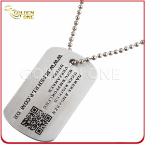 Personalized Metal ID Tag with Printed Qr Code pictures & photos