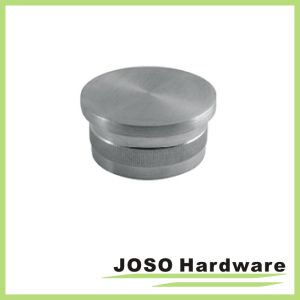 Architectural Railing Flat End Cap for Round Tubing (HSA403) pictures & photos