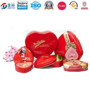 Heart Shape Promotion Tin Wedding Return Gifts pictures & photos