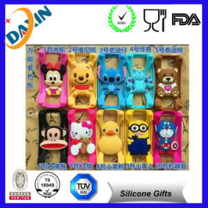 Factory Price Lovely Cartoon Universal Silicon Bumper&Universal Silicon Case pictures & photos