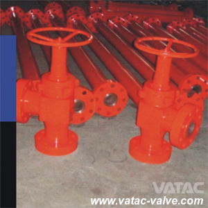 API 6A Cast Steel Manual Operated Drilling Choke Valve pictures & photos