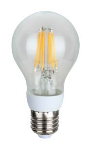 LED Filament Light A60-Cog 6W 638lm E27 4PCS Filament pictures & photos