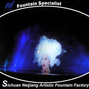 Laser Water Screen Music Fountain