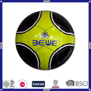 Machine Stitch PVC Cheap Soccer Balls pictures & photos