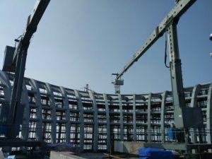 Double Jib Building Mmaintenance Unit Bmu pictures & photos
