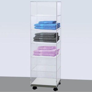Rotatable Acrylic Storage Cabinet/Acrylic Display Rack pictures & photos