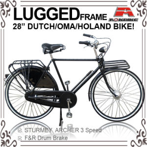 28 Inch Inner 3 Speed Dutch Bicycle for Men (AYS-2817S) pictures & photos