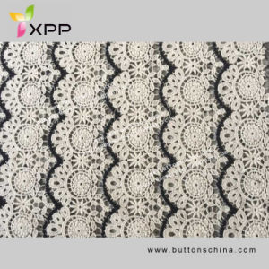 006 Water Soluble Allover Lace Fabric pictures & photos