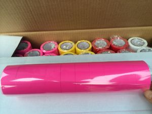 PVC Flagging Tape for Warning Tie Tape Color Film Non Adhesive pictures & photos