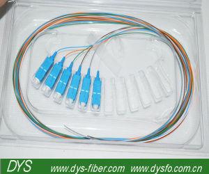 6cores Sc PC Singlemode Fiber Optic Pigtail pictures & photos