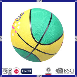Custom Printing High Quantity Rubber Basketball pictures & photos