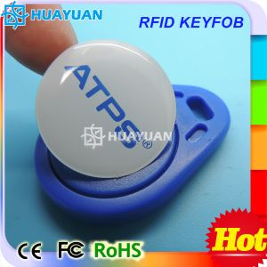 TK4100 Em4200 RFID ABS Keyfob Proximity Keychain for Access pictures & photos