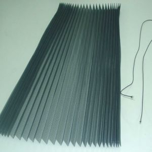 Polyester Pleated Plisse Insect Screening pictures & photos