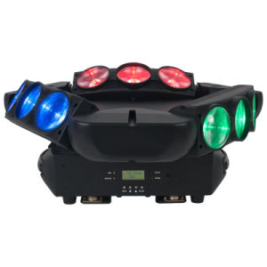 9PCS 12W RGBW Full Color Moving Head LED Spider Beam Light pictures & photos