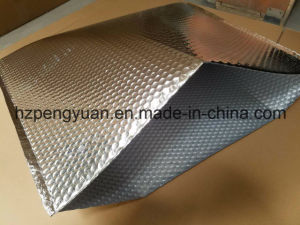 Metallic Foil Bubble Thermal Bag Cooler Bag for Fruit and Farm Products pictures & photos