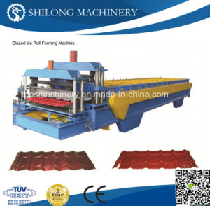 Color Steel Corrugated Roof Tile Panel Board Roll Forming Machine pictures & photos