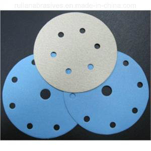 Blue Hook & Loop Discs with Holes (Good Quality, Competitive Price)