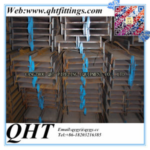 Welded Q235 Ss400 Galvanized H-Beam Steel Beam pictures & photos