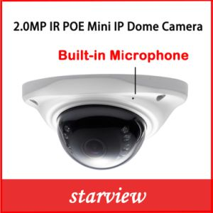 2.0MP Mini Built-in Microphone CCTV Digital Security Network Web IP Camera pictures & photos