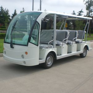 CE Approve 11 Seats Battery Passenger Sightseeing Car (DN-11) pictures & photos