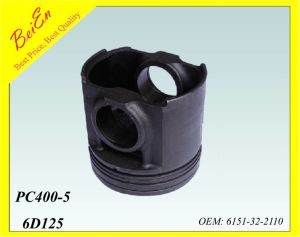 Piston for Excavator 6D125 Engine PC400-5 (Part number: 6151-32-2110) pictures & photos