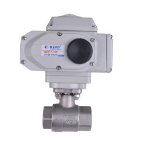 Klqd Brand 1 Inch 3-PCS Kind Stainless Steel Electric Ball Valve pictures & photos