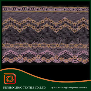 African Embroidery Chemical Lace Fabric pictures & photos