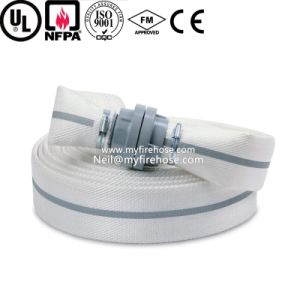 2 Inch Double Jacket Ageing Resistance of PVC Canvas Fire Hose pictures & photos