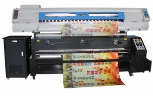 Audley Professional Flag Fabric Heat Transfer Printer with Sublimation Ink pictures & photos