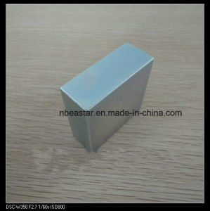 N45 Block Neodymium Magnet with Zinc Plating pictures & photos