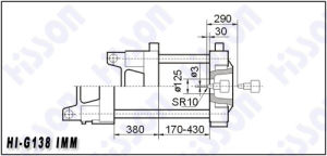138t Plastic Injection Moulding Machine Hi-G138 pictures & photos
