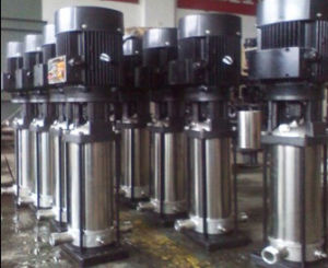 Vertical High Pressure Multistage Stainless Steel Oil Pumps pictures & photos