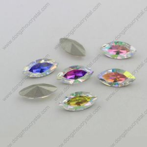 Ab Rectangle Crystal Woman Fancy Jewelry Stone (DZ-3001) pictures & photos