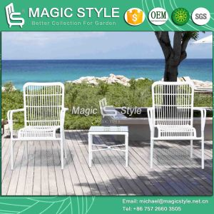Round Wicker Dining Chair Patio Stackable Chair Outdoor Dining Chair (Magic Style) pictures & photos