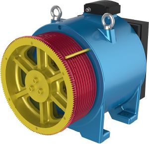 3.0m/S Gearless Traction Machine for Passenger Lift\Elevator Parts