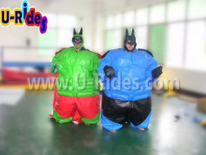 Inflatable Sports Games Bat Man Sumo Suits Sumo Wrestling Foam Padded Sumo Suits pictures & photos
