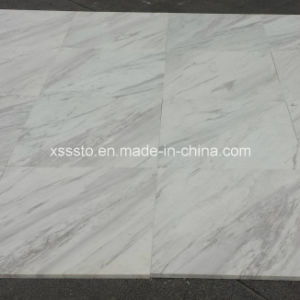 Natural Volakas White Marble Tiles for Wall, Flooring pictures & photos